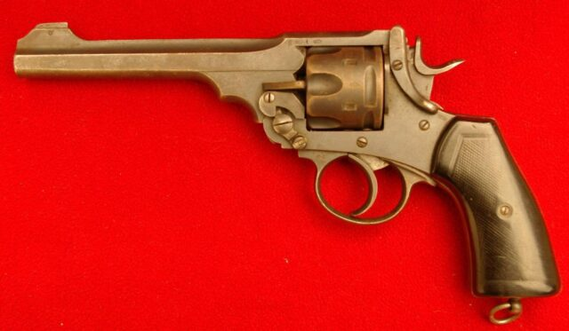 foto Revolver Enfield Mk.VI