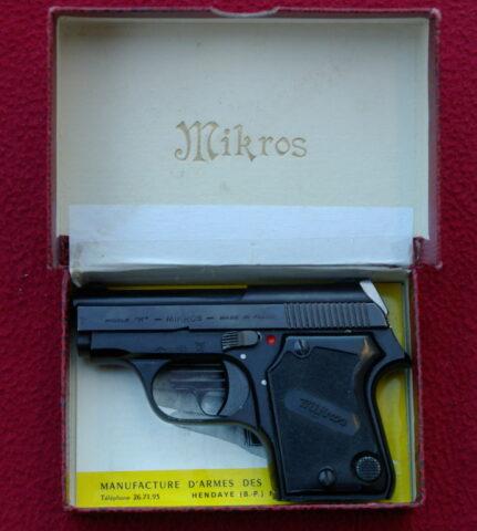foto Pistole Unique Mikros