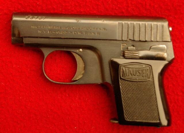 foto Pistole Mauser WTP I.