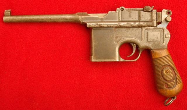foto Pistole Mauser C96