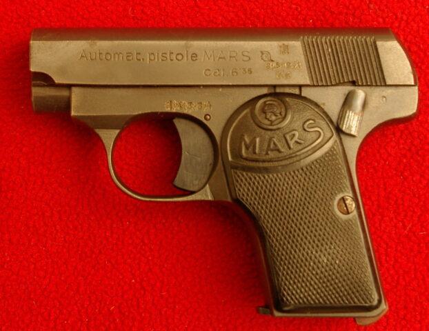 foto Pistole Pošumavská zbrojovka Kdyně model MARS