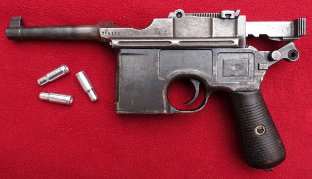 foto Pistole Mauser C96 BOLO – 4mm Flobert
