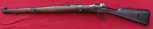 foto Argentinský Mauser Model 1909 – jezdecká karabina