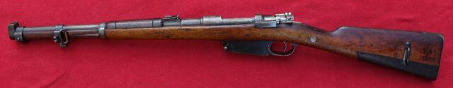 foto Puška Argentinský Mauser M.1891 – karabina pro technické sbory