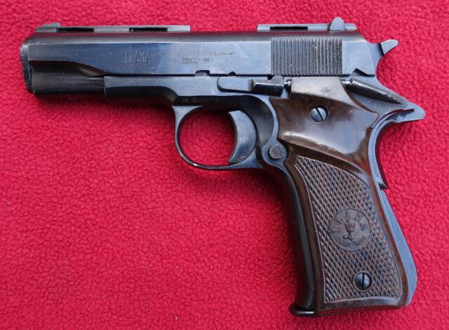 foto Pistole Llama Especial – 4mm Flobert