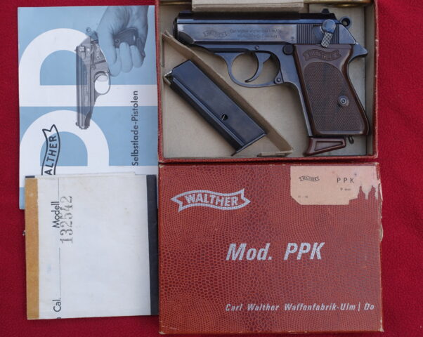 foto Pistole Walther PPK – 9mm