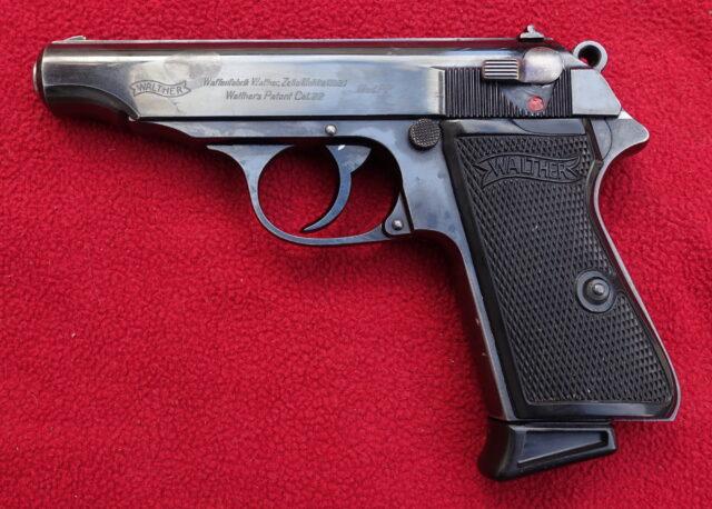 foto Pistole Walther PP Zella Mehlis – ráže .22LR
