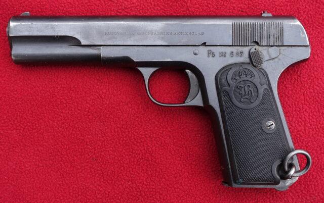 foto Pistole Husqvarna M1903