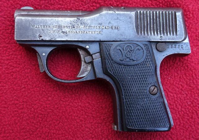 foto Pistole Walther Mod.1