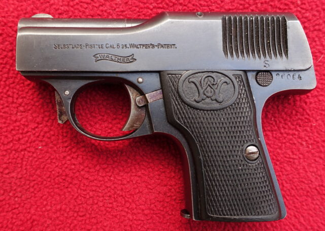 foto Pistole Walther Mod.1