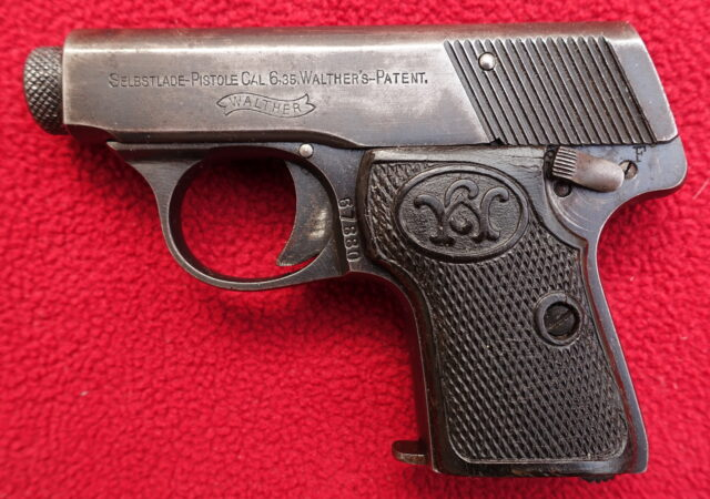 foto Pistole Walther Mod.5