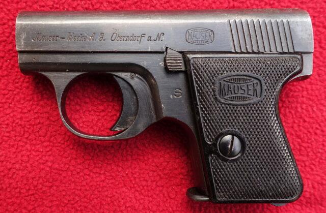 foto Pistole Mauser WTP 2