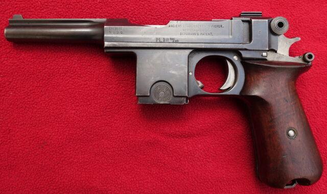 foto Pistole Bergmann 1910/21