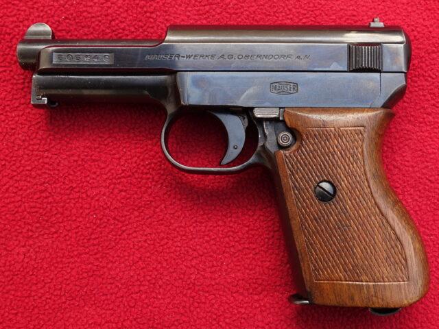 foto Pistole Mauser 1910/34