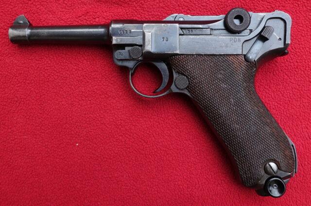 foto Pistole Mauser P.08