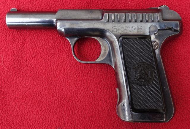 foto Pistole Savage Mod.1907