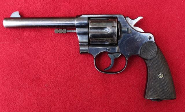 foto Revolver Colt New Service