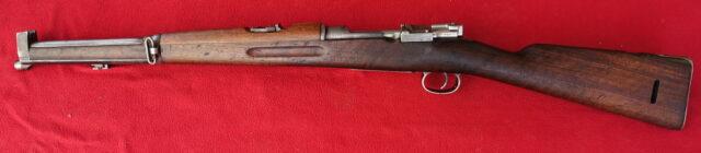foto Švédská karabina Mauser M.94