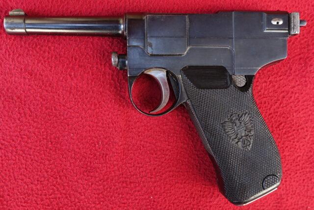 foto Pistole Glisenti 1910