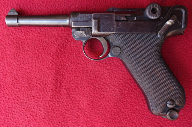 foto Pistole DWM P.08