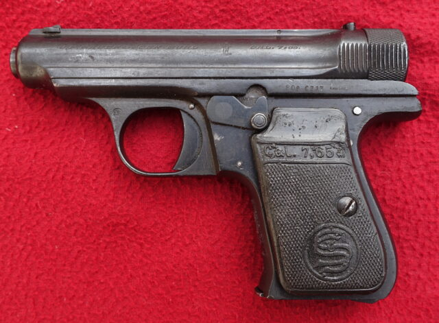 foto Pistole Sauer & Sohn 1930 – ráže 4mm Flobert