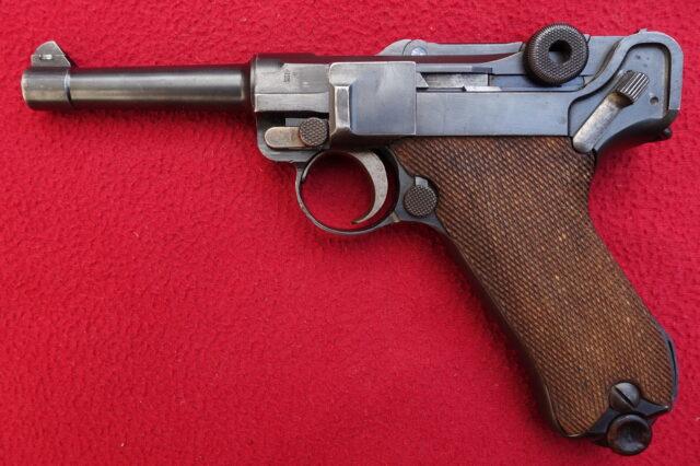 foto Pistole DWM P.08 pro civilní trh
