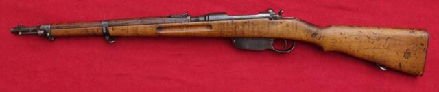 foto Puška Mannlicher M.95 československé armády