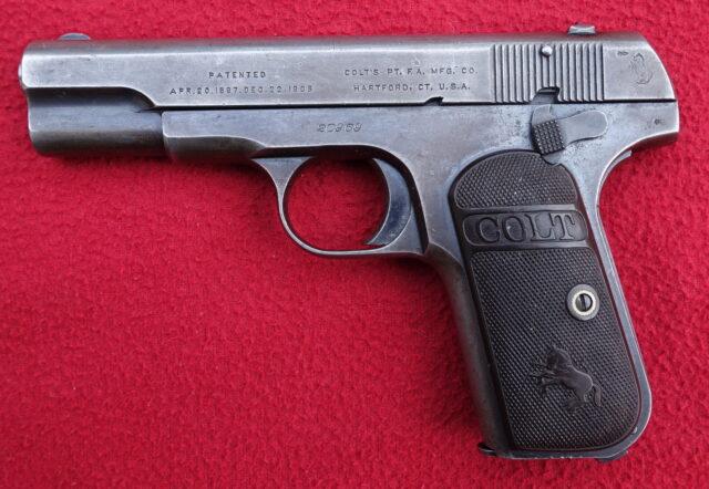 foto Pistole Colt Model 1908
