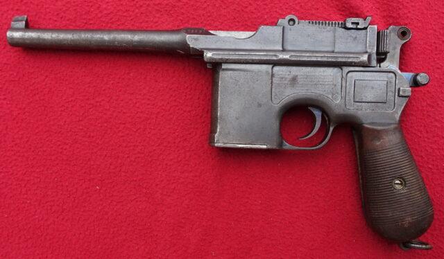 foto Pistole Mauser C96 – REZERVOVÁNO