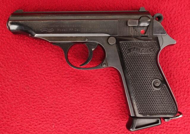 foto Pistole Walther PP – jubilejní model