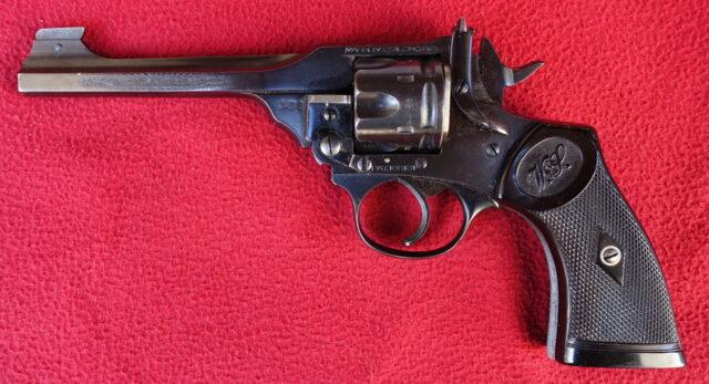 foto Revolver Webley Mark IV – ráže .22LR