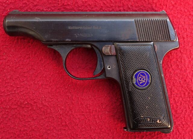 foto Pistole Walther Mod.8