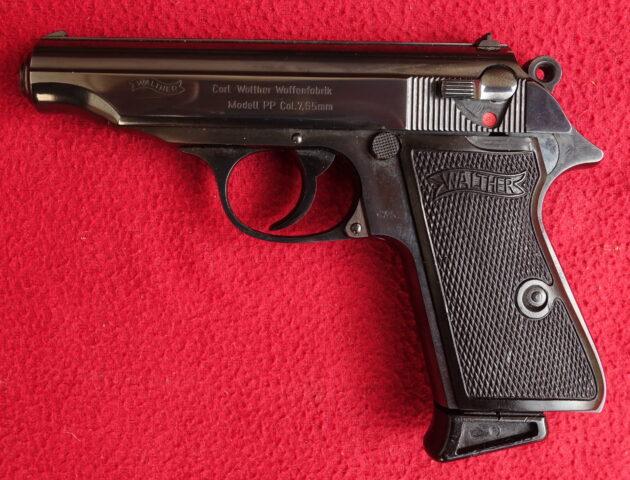 """foto Pistole Walther PP – tovární """"repas"""""""