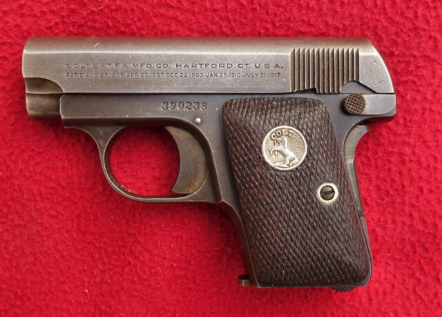 foto Pistole Colt Model 1908 Hammerless (.25 Automatic)