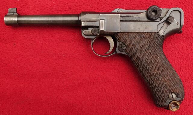 foto Pistole DWM P.08 s hlavní od firmy Tikka