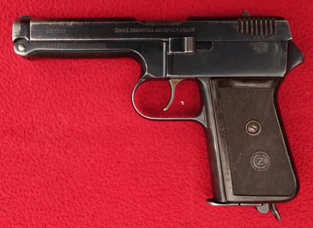 foto Pistole ČZ Vz.38