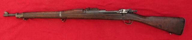 foto Expanzní puška Springfield 1903