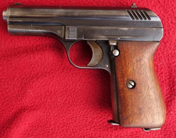 foto Pistole ČZ Vz.24 z výzbroje finské armády