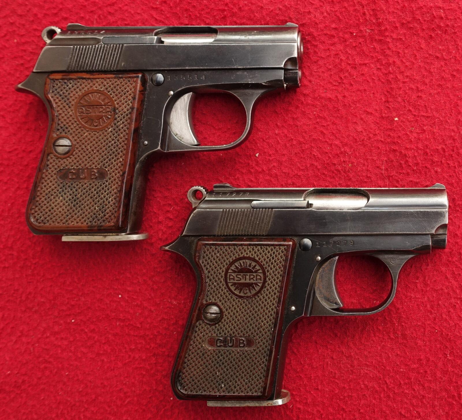 pistole astra cub sb ratelsk zbran. Black Bedroom Furniture Sets. Home Design Ideas