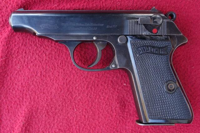 foto Pistole Walther PP Zella Mehlis ráže .22LR