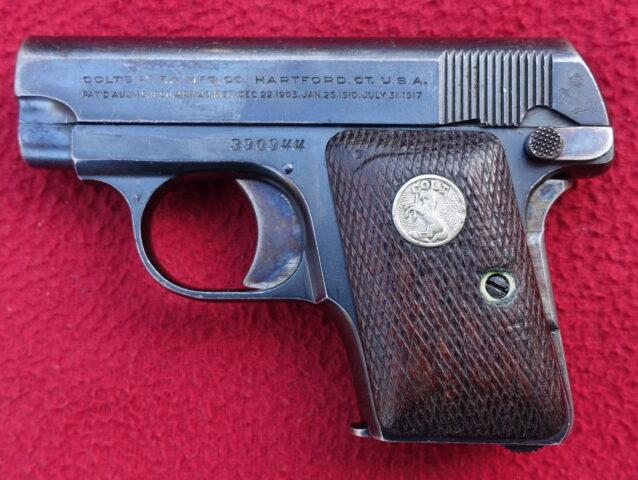 foto Pistole Colt Model 1908 Hammerless