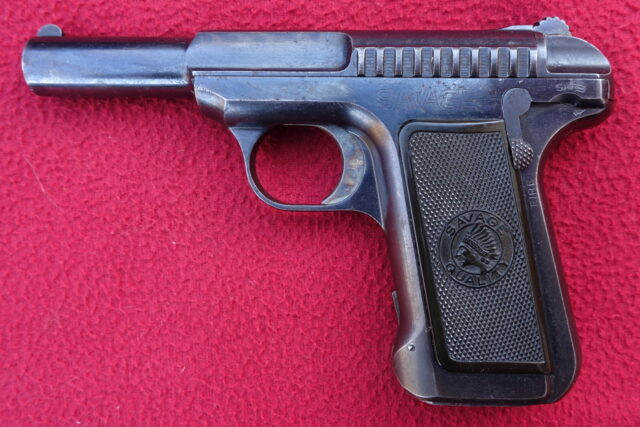 foto Pistole Savage 1907