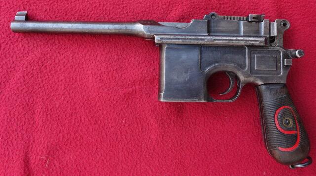 foto Pistole Mauser C.96