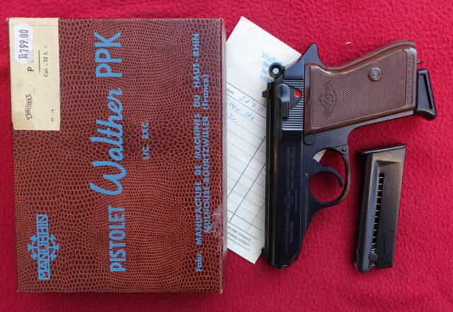 foto Pistole Manurhin PPK