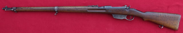 foto Puška Mannlicher (Steyr) M.95 pro jugoslávskou armádu