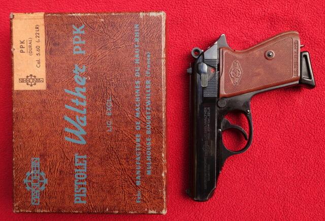 foto Pistole Manurhin PPK – ráže .22LR