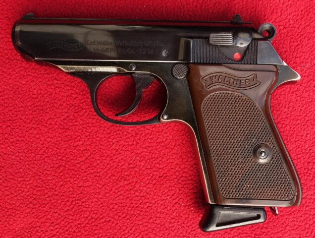 foto Pistole Walther PPK – ráže .22LR