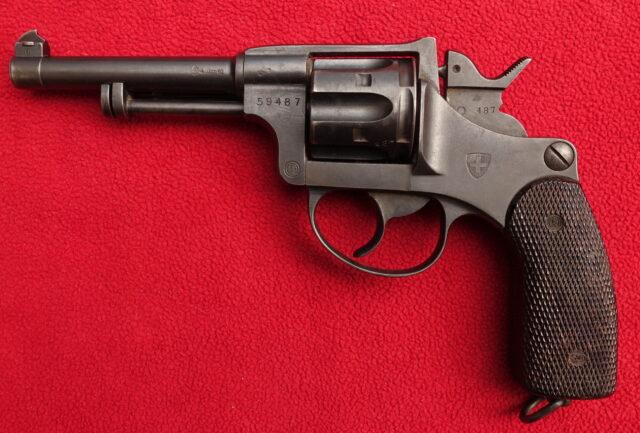 foto Švýcarský revolver M.1882/29