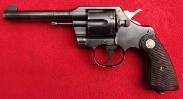 foto Revolver Colt Official Police