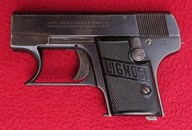 foto Pistole Lignose model 2-A